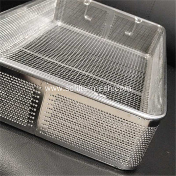 304 Stainless Steel Perforated Plate Baskets